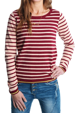 Knitted Polka Stripe - Maison Scotch