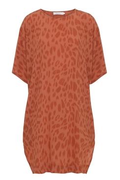 Bright Leopard Dress