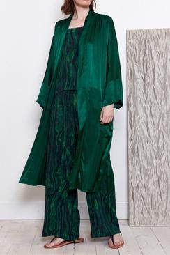 Kimono Coat Green