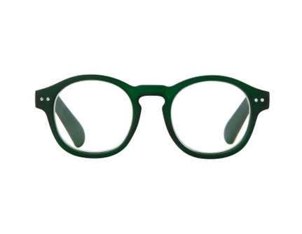 Ove Bottle green rubber Reading Glasses
