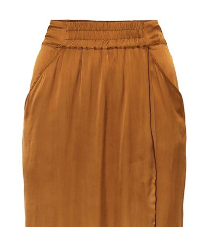 Tonal wrap skirt