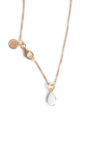 Syster P - Beloved Chain Gold Moonstone