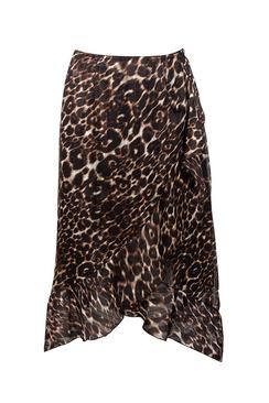 Elips Leopard Skirt
