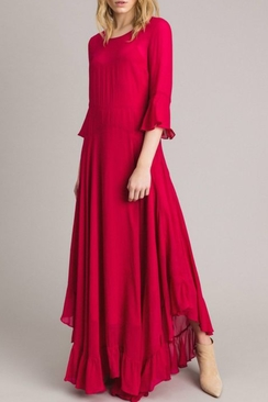 Georgette Long Dress