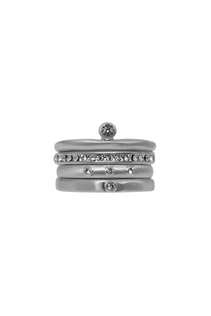 Tihomira Temple Ring Silver