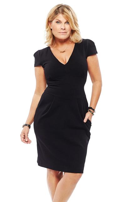 Pernilla Wahlgren Jersey Pocket Dress