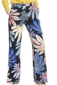 Printed Viscose Palazzo Trousers