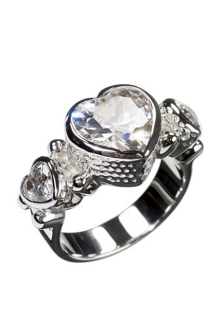 Honey Silver Ring