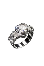Honey  Silver Ring