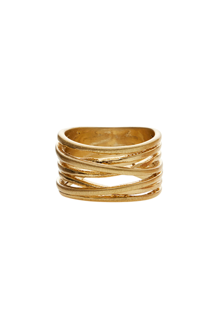Tara Wrap It Ring Guld