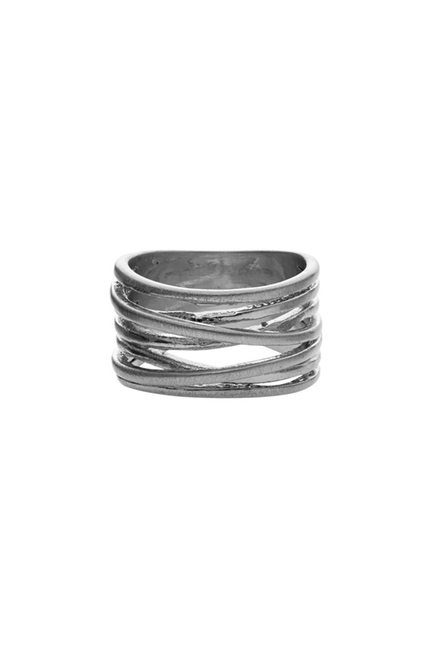 Tara Wrap It Ring Silver
