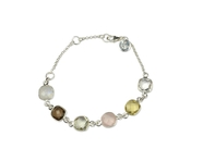Cushion Bracelet Silver Lemon