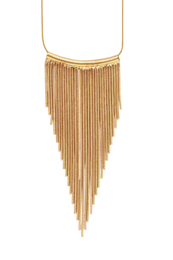 Tazia Waterfall Necklace Guld