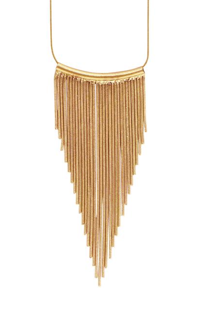 Tazia Waterfall Necklace Guld