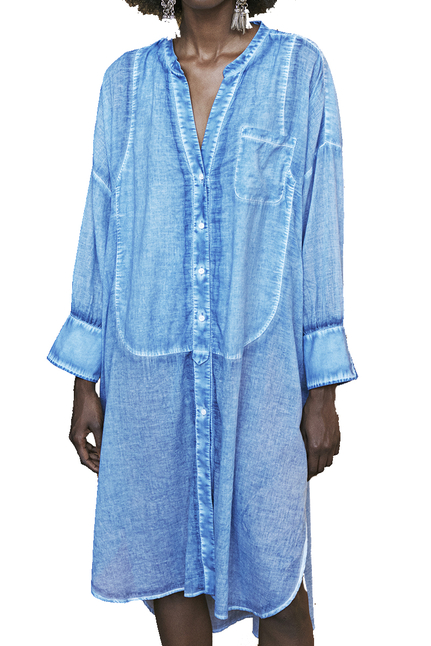Chambray Oversized Shirt