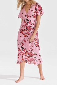 Costa Rica Piper Frill Wrap Dress