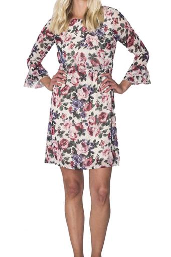 City Flower Dress