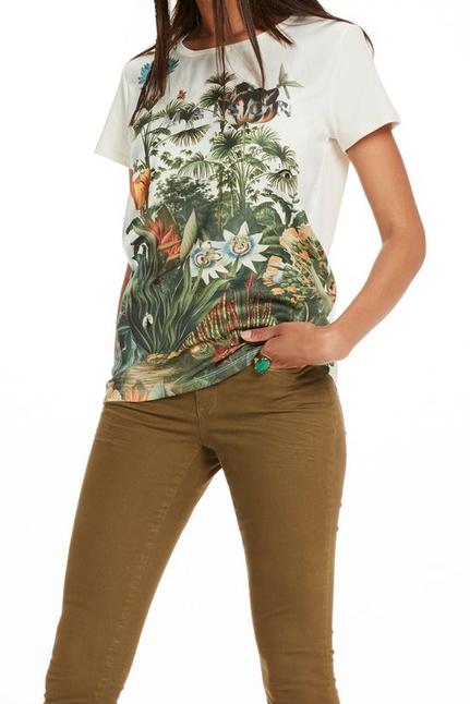 Botanical Photo Print T-Shirt