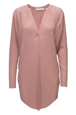 Petra liquid Pink Shirt Dress