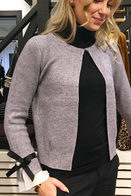 Nita Grey Cardigan