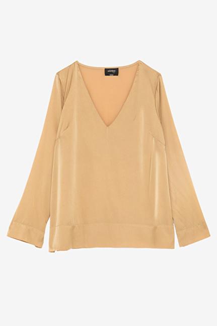 Satin Gold Shirt