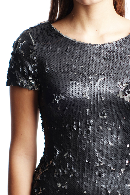 Dry Lake Carita Sequin Short Dress