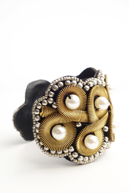 Armband Pearl and Bronze