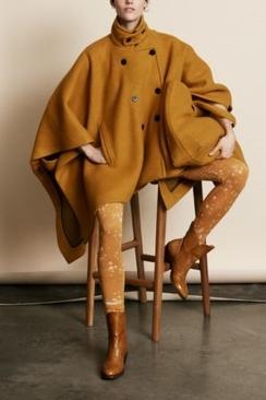 Irena Solid Wool Tunic Jacket
