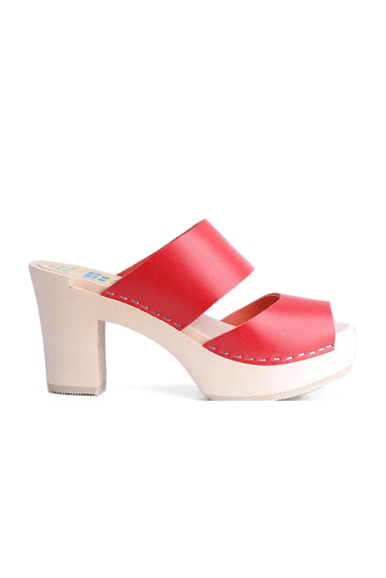 Clogs of Sweden Red