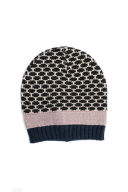 Maya Dotted Mix Knit Beanie