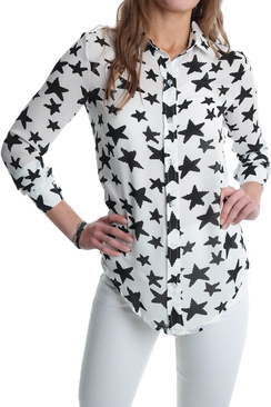 Shirt of Stars White