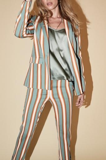 Cobb Stripe Blazer