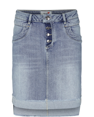 Valli See Denim Skirt