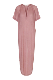 Petronella Liquid Pink Long Dress