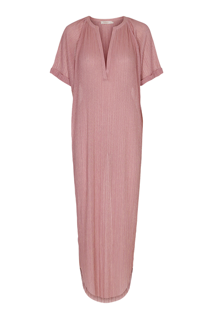 Petronella Liquid Pink Long Dress