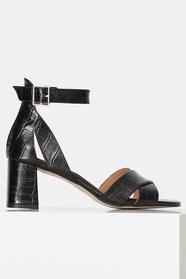 May Cross Croco Sandal