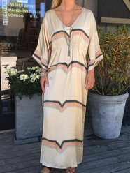Rainbow Kaftan Dress