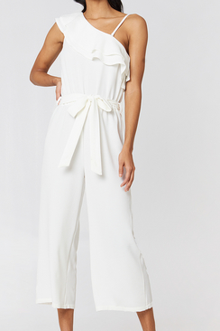 Ofelia One Shoulder Jump Suit
