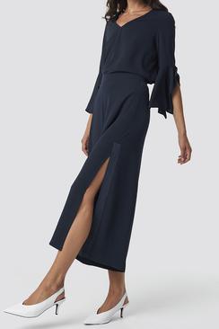 Wide Side Split Pant