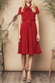 Polly Dress Red