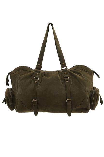 Elba Suede Shoulder Bag